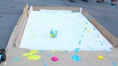 Painting with Robots: Sphero 2.0 Street Art