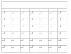 Blank Calendar Template In Excel Language Arts Blank Calendar