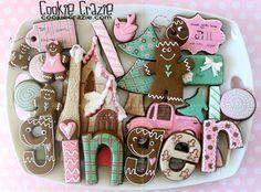 CookieCrazie: GINGER-y Christmas Cookie Collection