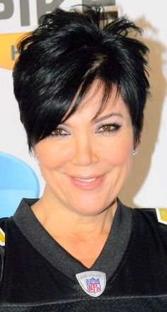 Kris Jenner at the Direct TV's 3rd Annual Celebrity Beach Bowl | Haircuts, Hair Styles & Pictures of Celebrity Hairstyles 2012