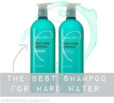 Hard Water Shampoo. The best shampoo and conditioner for hard water! Really great for hard water in  Europe and in the mountains.