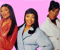 SWV. My favorite R group of all time!! They had femininity and a rough side. They were around the way girls just telling it like it is. LeLe, Coko & Tahj  These young cats ain't got nothin' on SWV.