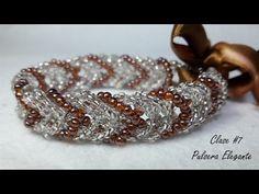 Pulsera de Perlas en un modelo sutil y atractivo....Clase#11 - YouTube