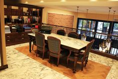 Taji Mağazası / Abdi İpekçi #parke #parquet #parquetflooring #wood #woodflooring #design #architecture #interiordesign #interiors #architect #design #lantanaparke #hungarian #oak #taji #showroom Lantana Parke