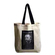 Sail about a little and see the watery part of the world with this Herman Melville tote.