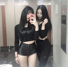 "nisfis on ""~'*- lesbian asian couples -*'~"" Asian Fashion, Girl Fashion, Chica Cool, Ulzzang Korean Girl, Girl Couple, Beautiful Asian Women, Korean Model, Korean Outfits, Sexy Asian Girls"