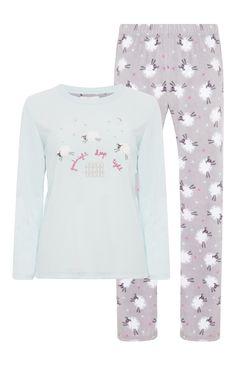Primark - Pijama polar Goodnight Sheep