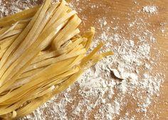 Homemade Tagliatelle | thelittleloaf #pasta #homemade #recipes #esfoodpasta