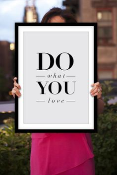office inspirational posters. Motivational Print Typography Quote \u201cDo What You Love\ Office Inspirational Posters D