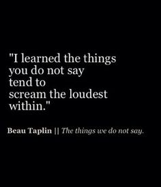 we have things, thoughts, emotions, inside of us. Great Quotes, Quotes To Live By, Inspirational Quotes, Words Quotes, Me Quotes, Sayings, Qoutes, The Words, Under Your Spell