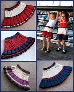 A place to hear about the latest goings on at Colour Adventures yarn store and Anadiomena's Designs hand-knitting patterns. Knitting For Kids, Baby Knitting Patterns, Crochet For Kids, Crochet Baby, Hand Knitting, Crochet Skirts, Knit Skirt, Baby Skirt, Baby Dress