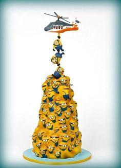 Minions Rescue Mission Cake
