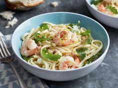 Linguine with Shrimp and Lemon Oil Recipe | Giada De Laurentiis | Food Network