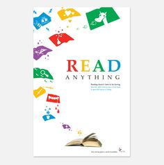Read Anything: Advocacy Poster - Keri O'Brien Design