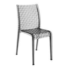 Discover the Kartell Ami Ami Chair - Smoke at Amara