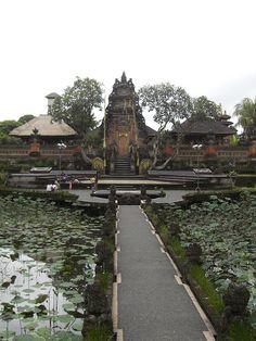Lotus Temple - Ubud, Bali, Indonesia