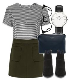 Untitled #5599 by laurenmboot on Polyvore featuring polyvore, fashion, style, Topshop, Forever New, Steve Madden, Acne Studios, Shaun Leane, Ray-Ban, Daniel Wellington and clothing
