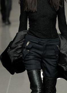 black on black. burberry prosum 2014.