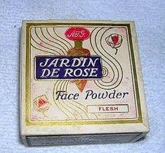 Vintage Vanity - Face Powder              Circa: Unknown