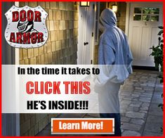 Protect your home and family by reinforcing all exterior doors. It's inexpensive and easy! Best Home Security, Security Cameras For Home, Television Set, Mini Camera, Armor Concept, Wireless Security, Protecting Your Home, People Talk, The Marketing