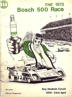 Roy Hesketh Racing Programmes to April 1973 Canadian Grand Prix, Champion Brand, World Championship, Formula 1, Programming, South Africa, Race Tracks, Racing, African