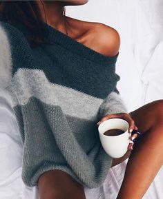 "163 Likes, 1 Comments - MISHKAH (@mishkahfashion) on Instagram: ""How winter mornings should be spent☕️️ WWW.MISHKAH.COM.AU Image: Tumblr"""