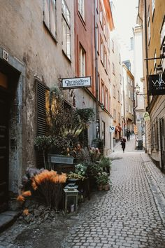 A Warm Day in Stockholm