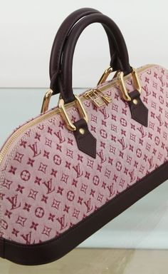 Louis Vuitton MINI LIN ALMA LONG SATCHEL   VAUNTE