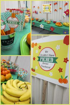Clearly Candace: More Than Apples: Teacher Appreciation Week, Westside Style!