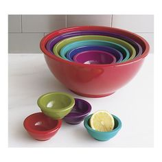My new mixing bowls! Can't wait to use them.