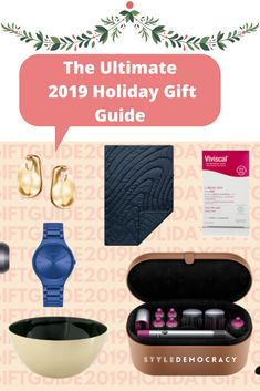 Not all gifts are created equal. But knowing that doesn't make shopping any easier. Take a peek at our ultimate 2019 holiday gift guide and discover some. Holiday Gift Guide, Holiday Gifts, All Gifts, Create, How To Make, Shopping, Xmas Gifts