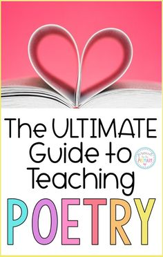 The ultimate guide to teaching poetry to children in the classroom. Reading poems help kids learn to read and write. This guide provides a listing of poetry resources for primary teachers, suggested materials to use with kids, and FREE step by step tutorials and printable templates.  #poetryforkids #teachingpoetry #poetrywriting #teachingreading #poemoftheweek