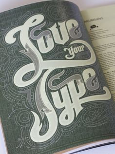 Magazine Title Page by Pno Nolan, via Behance