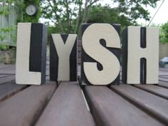 LYSH - Rustic Wooden Blocks