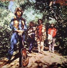 Creedence Clearwater Revival - Green River on 180g LP