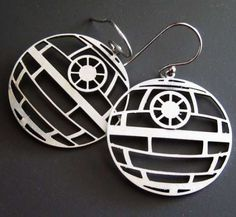 The Death Star Earrings Are Perfect for Dark Side Fashionistas trendhunter.com