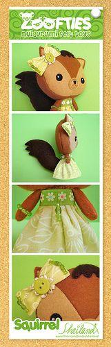 Zoofties :: Squirrel details