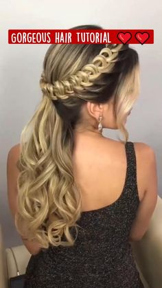 Hairdo For Long Hair, Easy Hairstyles For Long Hair, Pretty Hairstyles, Braided Hairstyles Tutorials, Braided Hairstyles For Black Women, Protective Hairstyles, Hairdos, Braids For Medium Hair, Braid Hairstyles For Long Hair