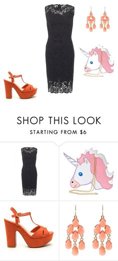 """""""#lookgirl1115"""" by polly2003-2003 ❤ liked on Polyvore featuring Dolce&Gabbana, Nila Anthony and Accessorize"""