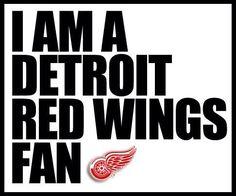 I am a Detroit Red Wings Fan! Detroit Hockey, Detroit Sports, Hockey Teams, Detroit Lions, Ice Hockey, Sports Teams, Hockey Stuff, Hockey Logos, Go Red