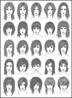 Drawing Hair Techniques drawing art hair girl female style women draw boy man men woman styles chart hairstyles different male charts deviantart reference tutorial various many references dark-sheikah Basic Hairstyles, Different Hairstyles, Girl Hairstyles, Drawing Hairstyles, Female Hairstyles, Pretty Hairstyles, Pelo Multicolor, Hairstyle Names, Long Hairstyle