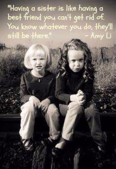 HAHAHAHA love this but seriously-I love and cherish my little sister Kristi Barrett...❤️❤️❤️