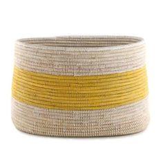 Handmade Fair Trade Woven African Knitting Basket - Connected Goods