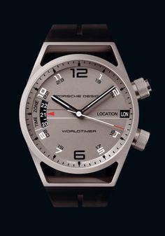 Clean design. Interesting lug 'section'. Porsche Design Worldtimer P'6750
