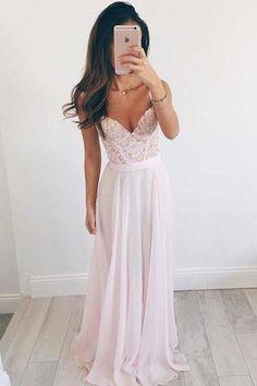 Chiffon Evening Dresses, V Neck Evening Dresses, V-neck Prom Dress, Cute Prom Dress, Prom Dress Pink, Prom Dresses 2019 #Prom #Dresses #2019 #Chiffon #Evening #Vneck #Dress #V #Neck #Pink #Cute #CutePromDress #VneckPromDress #PromDresses2019 #PromDressPink #VNeckEveningDresses #ChiffonEveningDresses