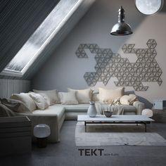 TRIX 1  #concretetiles #concrete #interiordesign #design #tiles #geometricdesign #tekt_nonflats #walldesign #3dwall #deco