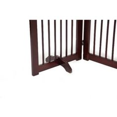 Primetime Petz Support Feet for 360 Configurable Pet Gate Collection, Brown