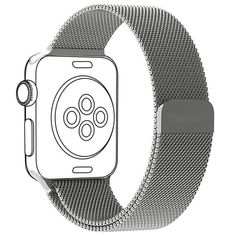 HIGH QUALITY - Milanese Loop Band for Apple Watch  Compatible with Apple Watch Series 2 & Series 1 Sport & Edition, wrist size: 6.10 Inch - 9.45 Inch.   Upgrade your Apple Watch at a fraction of the cost that installs cleanly with the push of a button.  The milanese loop strong magnetic enclosure is concealed and makes for a precise fit that is easy to use.  Limited amount left in stock, buy it now in order to get it first.