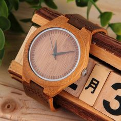 Cheap leather men watch, Buy Quality leather cork directly from China leather led watch Suppliers: Luxury Men's Women's Bamboo Wood Watch Quartz PU Leather Wristwatches Relogio Masculino feminino 2017 New Arrivals Cheap Watches, Watches For Men, Compass Design, Style Simple, Movies To Watch Free, Wooden Watch, Women's Accessories, Pu Leather, Luxury