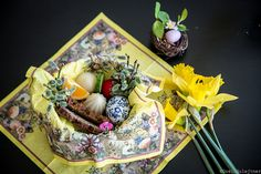 Easter Polish style, eggs, gluten-free bread, spring